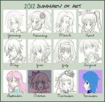 VenDettaSkye 2012 Art Summary by omatsuri-ven