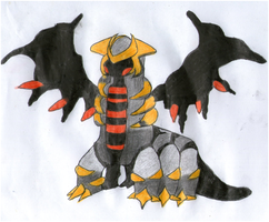 Giratina by IruzaNadiru