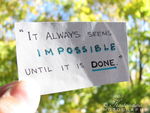 imPOSSIBLE by Kostandina