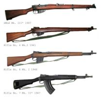 AE WW2 British Rifles by SimonLMoore