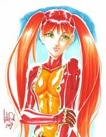 Asuka-SDCC 09 by Dhutchison