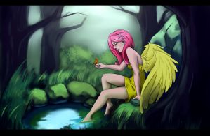 Fluttershy by forgotten-wings