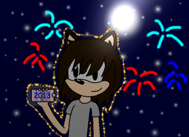 That's me starting the new year X) by SonicUS1000