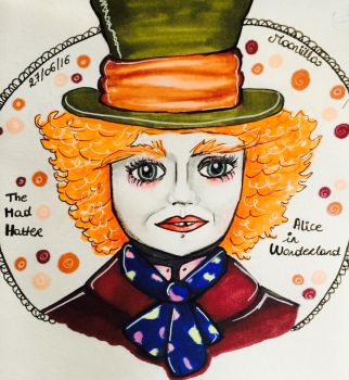 The mad hatter by Mooniilla