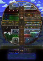 Terraria P1 House! by Heartage