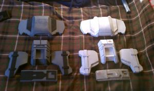 ODST foam and paper compare by EROCKERTORRES