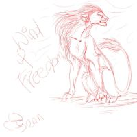 Wind of freedom - sketches part 1 by TigaLioness