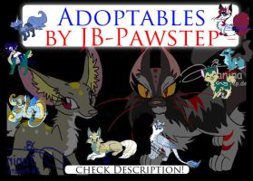 New Adoptables by JB-Pawstep