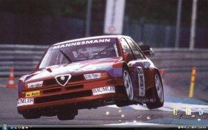 Flying Alfa Romeo Desktop by Fox-Skyline