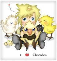 I love chocobos by Celtilia
