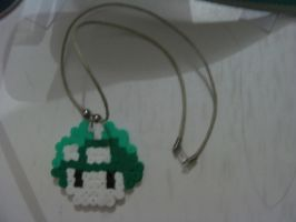 Green 1 Up Mushroom by animeninjayaya