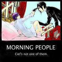 Ciel's Everyday Mornings by peppermint-twertle