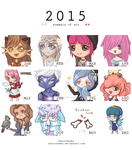 Summary of Art 2015 by RazorCheeks