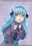 Aceo Card #84 - Yume Christmasgift by LunaLunett