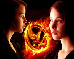 The Hunger Games. Katniss 2 by StalkerAE