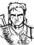 Solidus Snake and Jack by DiegoE05