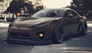 Toyota GT86 Chocolate by hugosilva