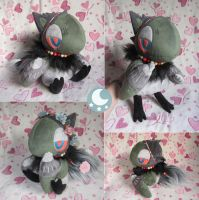 Severin Plushie by Momoless