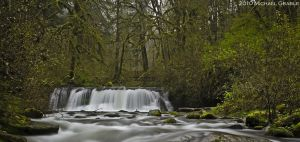 Lower McDowell Creek Falls by 11thDimensionPhoto
