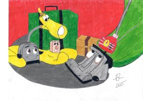 The Brave Little Toaster by FreeingMyAngelWings