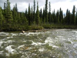 Alaska River 7 by prints-of-stock