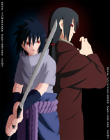 Collab Uchiha by MarxeDP