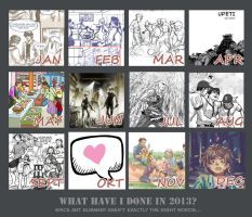 what have I done in 2013 by malya