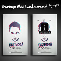 Bazinga Miui Lockscreen by kgill77