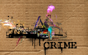 .Graffiti Crime Connection by AbuseD--