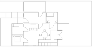 Graphics: Modernist Architecture Floor Plan by SuccubusAlice