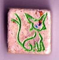 Poke Tiles Shiny Espeon by OrigamiMommy
