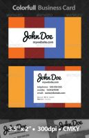 Colorfull Business Card by Rafael-Olivra