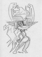 Midna Sketch by EnterPraiz