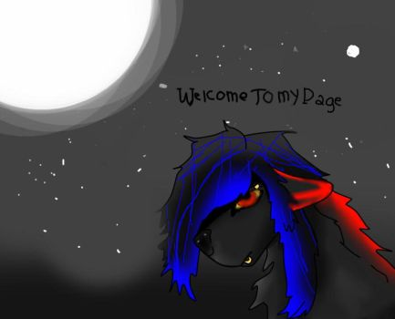 Broken page welcoming:) by Ninth-Light