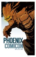 Phoenix Comicon 2015 print by ryancody