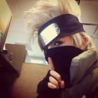 Kakashi Being A Ninja At Work by ChidoriLove89