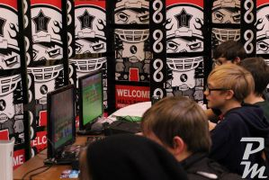 Gaming Together by Peachey-Photos