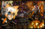 ::Mad Halloween:: by bezzalair