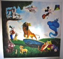 Disney Mural by Bonniemarie