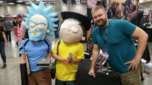 Rick and Morty x TWD cosplay by evilium
