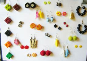 Earring factory by SebtemberWishes
