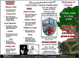 pamphlet for church by KansasArtist