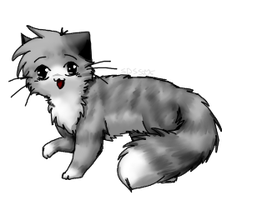 Nyao Cat by Spottedfire-cat