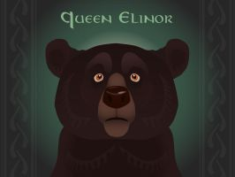 Queen Elinor Bear by inkydragon
