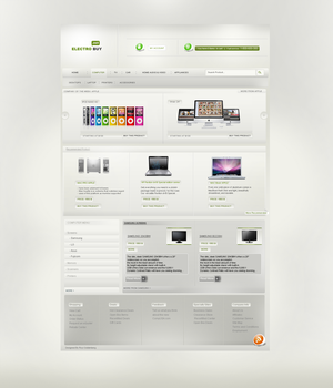 ELECTRO BUY - Web Design by RC-man-Design