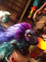 Drying muh Flocked Fur by omfgitsbutter