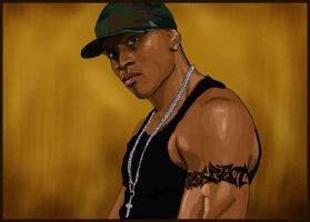LL cool J portrait by sensei324