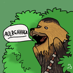 Chewie by Homer1208