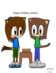 Happy Bithday Anthey by GG-The-Artist