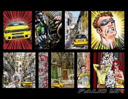 Finished Fiat Palio comic by CRCavazos
